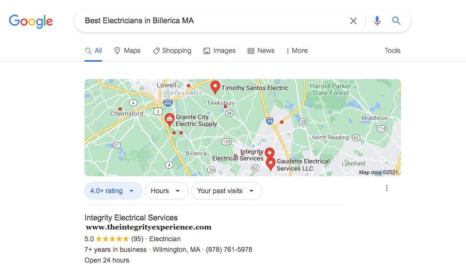 Billerica electricians Massachusetts