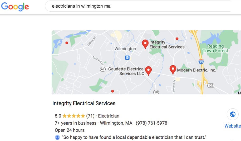 Best electricians in Wilmington MA
