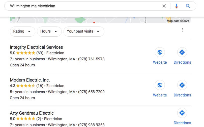 Top rated wilmington ma electrical company